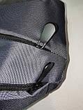 Барсетка слінг на груди REEBOK Оксфорд тканина 1000D Унісекс/Сумка спортивні для через плече(ОПТ), фото 7