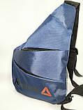 Барсетка слінг на груди REEBOK Оксфорд тканина 1000D Унісекс/Сумка спортивні для через плече(ОПТ), фото 2