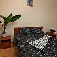 Двуспальное постельное бязь 100% хлопок Реснички 2