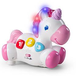 Іграшка музична Bright Starts Rock & Glow Unicorn