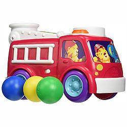 Іграшка музична Bright Starts Roll & Pop Fire Truck