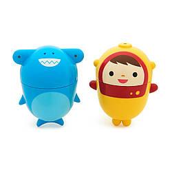 Іграшка для ванної Munchkin Аквалангіст і акула