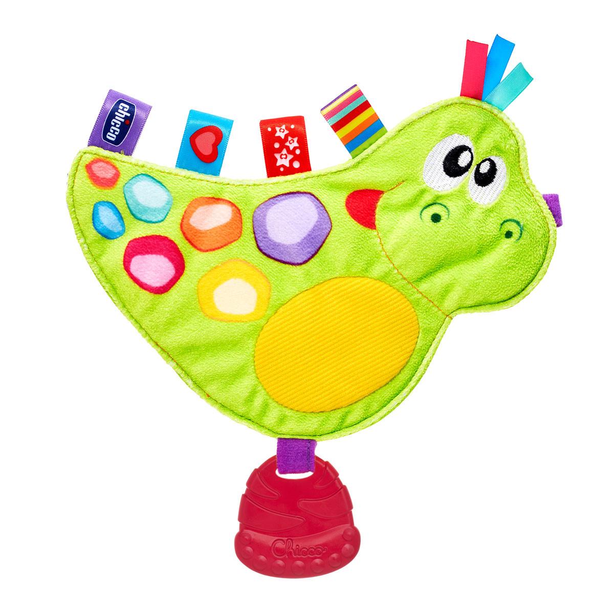 Игрушка мягкая Chicco Динозаврик Дино