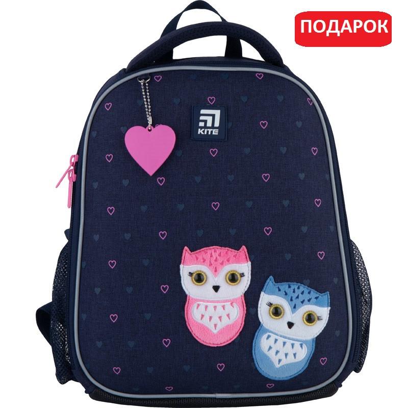 Рюкзак шкільний каркасний Kite Education Lovely owls (K21-555S-4)