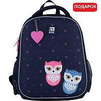 Рюкзак шкільний каркасний Kite Education Lovely owls (K21-555S-4), фото 1