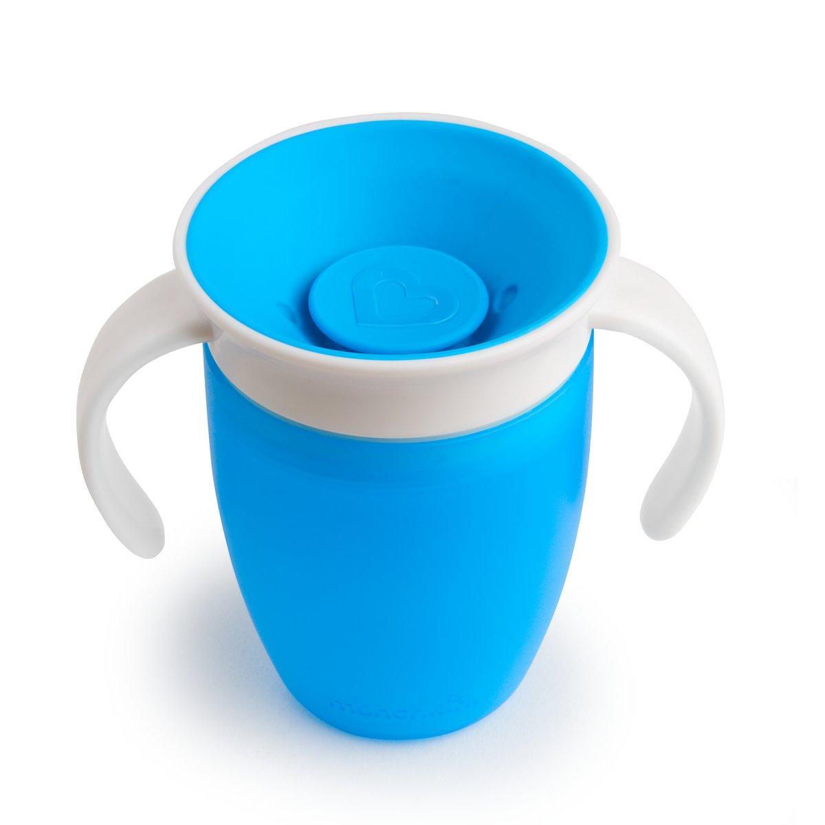 Чашка непроливная Munchkin Miracle 360 с ручками, 207 мл