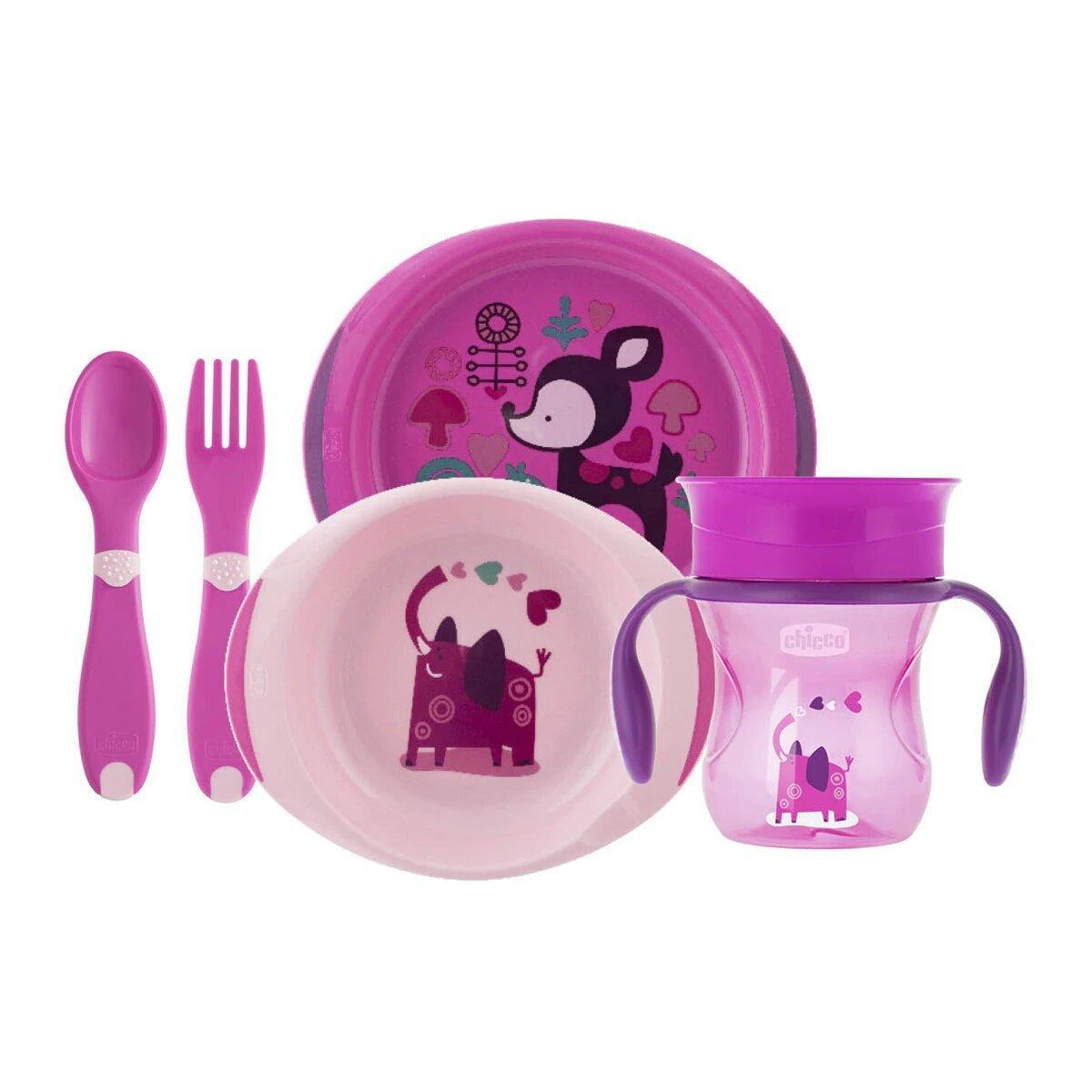 Набір посуду Chicco Meal Set, 12м+