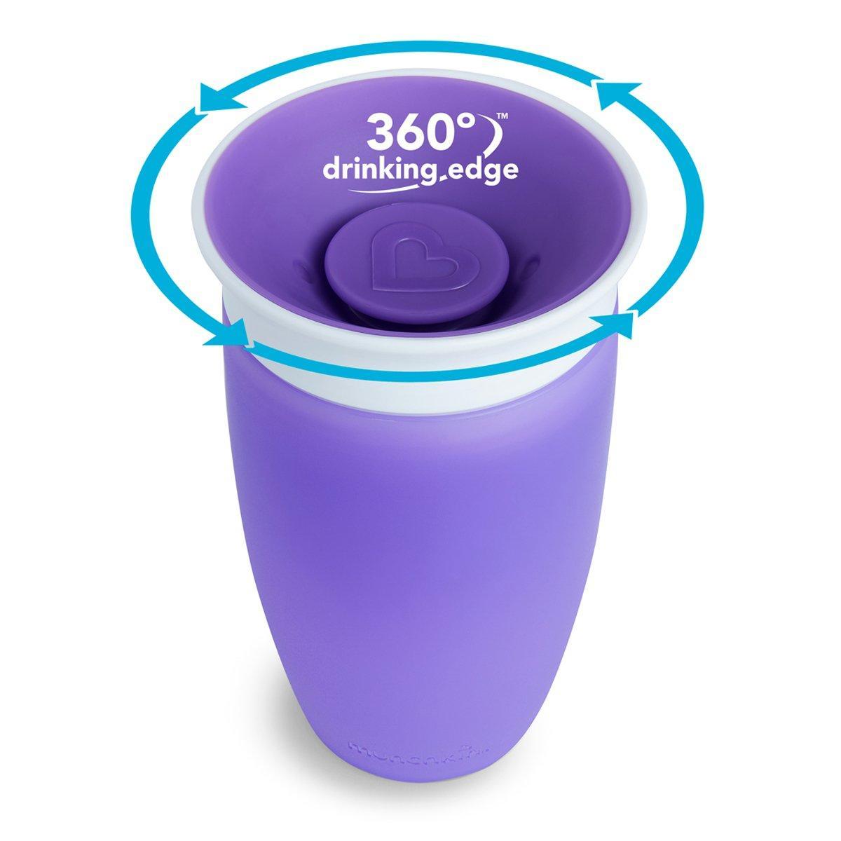 Чашка непроливная Munchkin Miracle 360, 296 мл