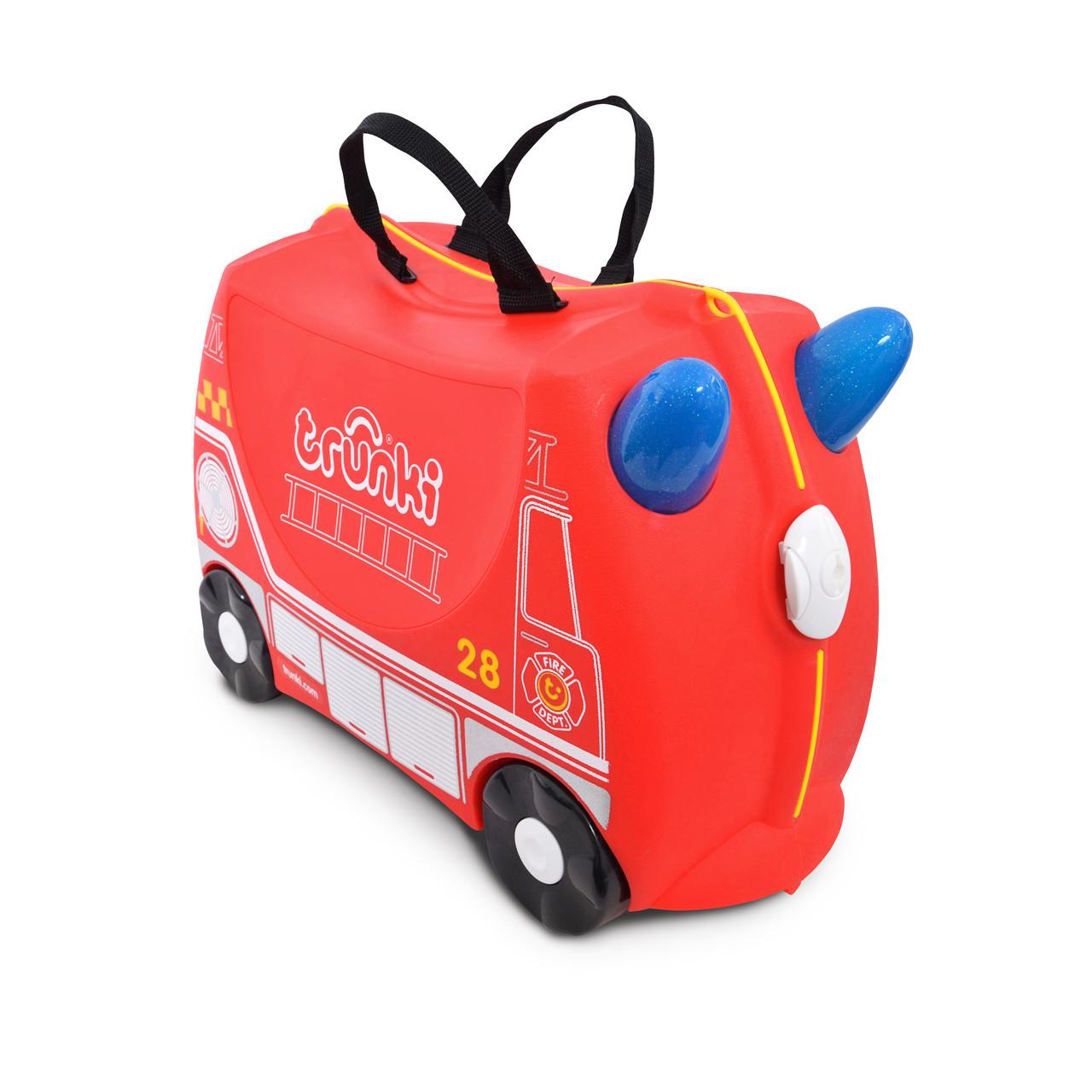 Детский чемодан Trunki Frank FireTruc