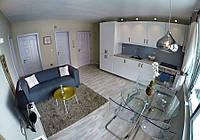 50 175 евро - 3х комнатная квартира в жилом доме в 50 м от пляжа с видом на море