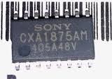 Микросхема CXA1875AM Демонтаж