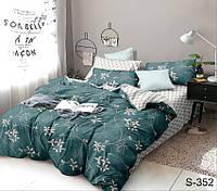 2-спальный комплект постельного белья с компаньоном S352 ТМ TAG сатин хлопок ФОТО