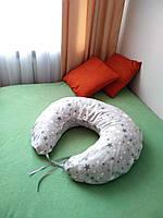 Подушка U - образная, для кормления со съемной наволочкой
