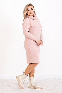 Платье с воротником-хомут на весну 48 50 52 54 размер