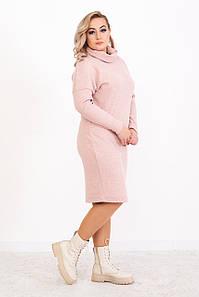 Сукня з коміром-хомут на весну 48 50 52 54 розмір