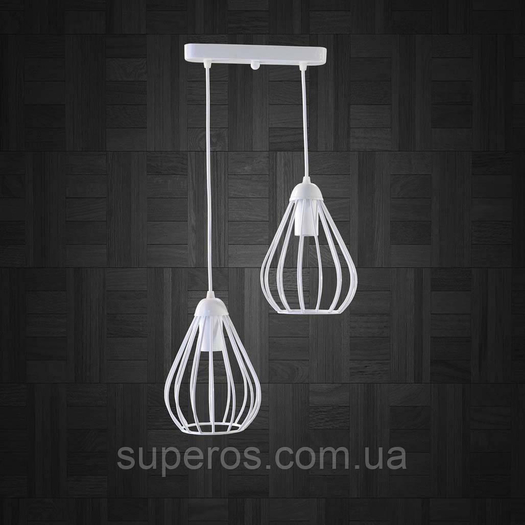 Подвесная люстра на 2-лампы FANTASY-2 E27 белый