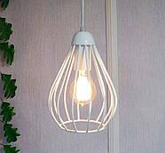 Подвесная люстра на 2-лампы FANTASY-2 E27 белый, фото 2