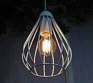 Подвесная люстра на 2-лампы FANTASY-2 E27 белый, фото 4