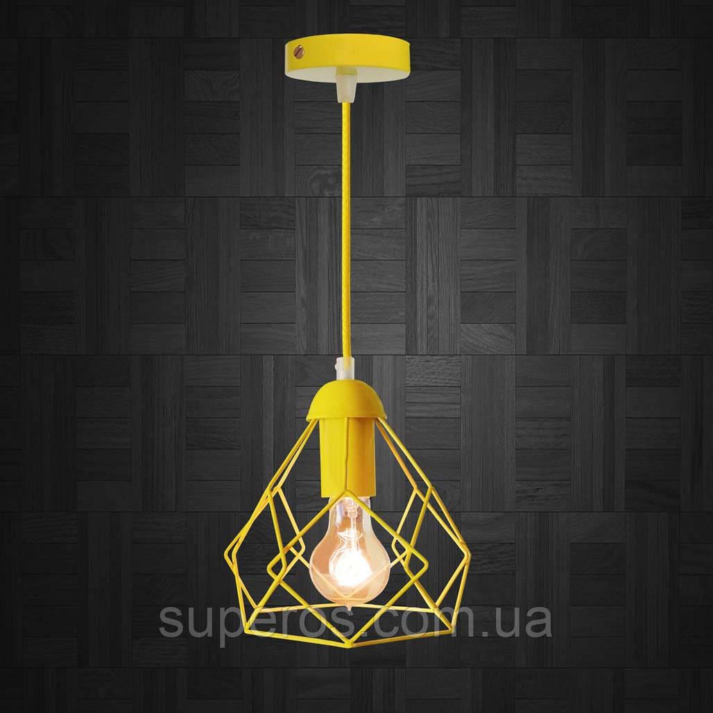 Підвісний світильник RUBY E27 жовтий