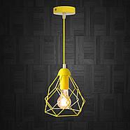 Підвісний світильник RUBY E27 жовтий, фото 2