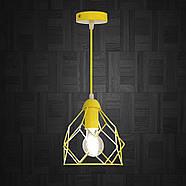 Підвісний світильник RUBY E27 жовтий, фото 3