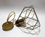 Подвесной светильник RUBY E27 золото, фото 3