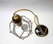 Подвесной светильник RUBY E27 золото, фото 5