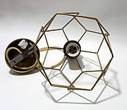Подвесной светильник RUBY E27 золото, фото 6