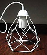 Подвесная люстра на 2-лампы RUBY-2 E27 белый, фото 3