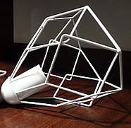 Подвесная люстра на 2-лампы RUBY-2 E27 белый, фото 5