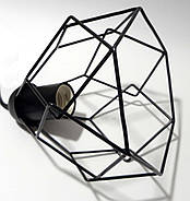 Підвісна люстра павук на 8-ламп RUBY-8 E27 чорний 1,5 м., фото 6