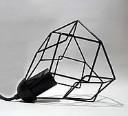 Підвісна люстра на 2-лампи RUBY-2 E27 чорний, фото 6