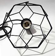 Підвісна люстра на 2-лампи RUBY-2 E27 чорний, фото 7