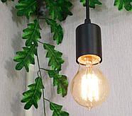 Підвісний світильник на 2-лампи CEILING-2 E27 чорний, фото 5