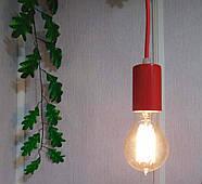 Подвесной светильник на 2-лампы CEILING-2 E27 красный, фото 4