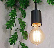 Подвесной светильник на 5-ламп CEILING-5 E27 чёрный, фото 6