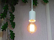 Подвесной светильник на 7-ламп CEILING-7 E27 белый, фото 7