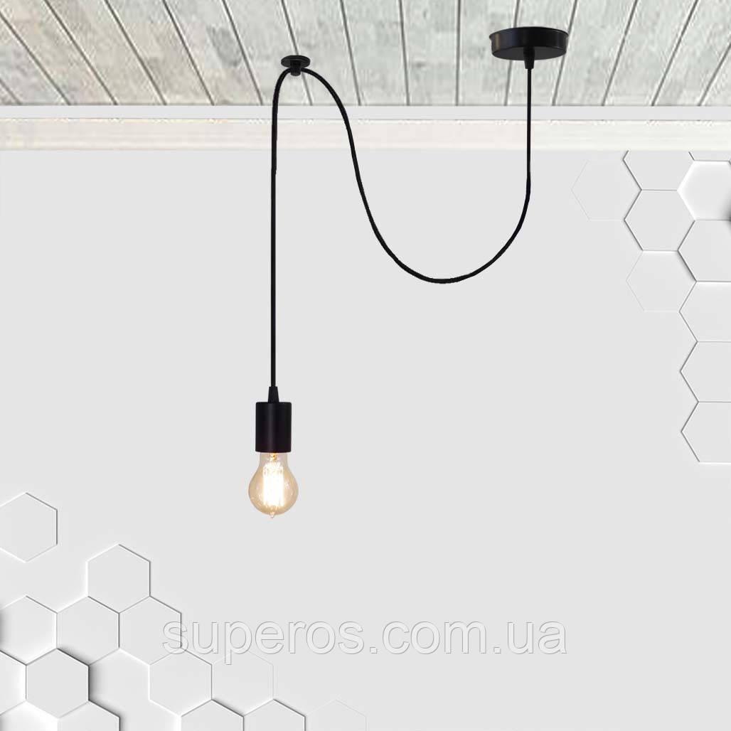 Підвісний світильник на 1-лампу CEILING/SP E27 чорний