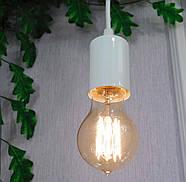 Підвісний світильник на 1-лампу CEILING/SP-W E27 білий, фото 3