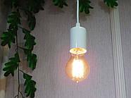 Підвісний світильник на 1-лампу CEILING/SP-W E27 білий, фото 4