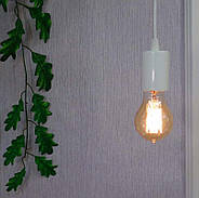 Підвісний світильник на 1-лампу CEILING/SP-W E27 білий, фото 5