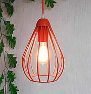 Подвесной светильник на 1-лампу FANTASY/SP-R E27 красный, фото 2