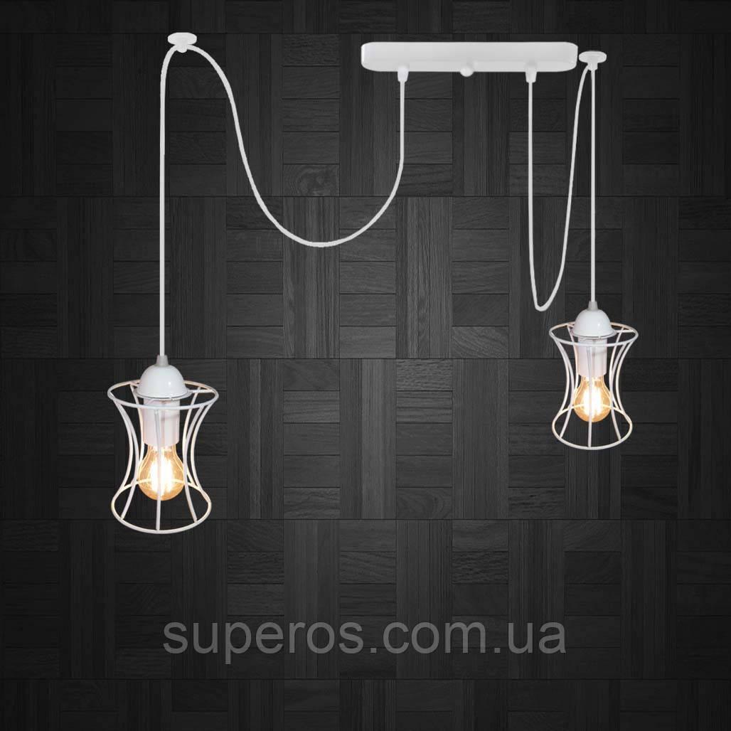 Подвесной светильник на 2-лампы SANDBOX/SP-2W E27 белый