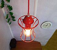 Подвесная люстра на 3-лампы SANDBOX/SP-3R E27 красный, фото 3