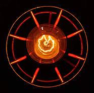 Підвісна люстра на 3-лампи SANDBOX/SP-3R E27 червоний, фото 5