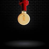 Світильник бра настінно-стельовий на 1-лампу BASE E27 червоний, фото 10