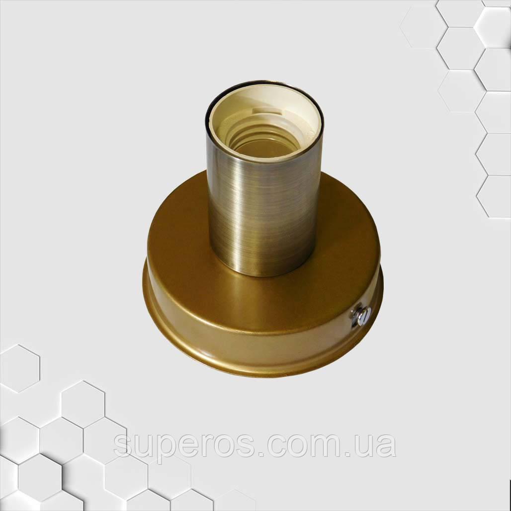 Світильник бра настінно-стельовий на 1-лампу BASE E27 золото