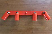 Спот поворотний на 4-лампи SLEEVE-4 E27 червоний, фото 2