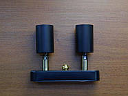 Спот поворотный на 2-лампы SLEEVE-2mini  E27  черный, фото 3