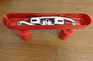Спот поворотний на 2-лампи SLEEVE-2 E27 червоний, фото 9